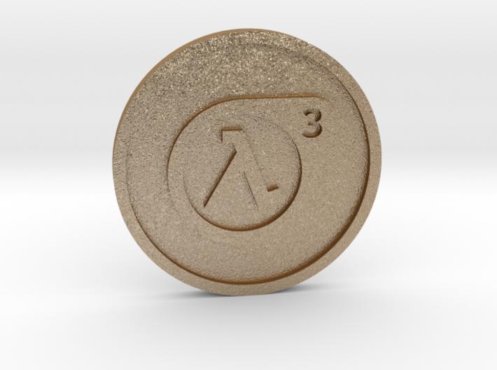 Half-Life 3 Lucky Coin 3d printed