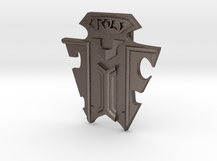 Klingon Emblem Badge 3d printed