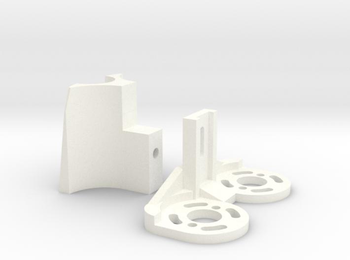 Fletcher Motor Mount (2 pieces) 3d printed