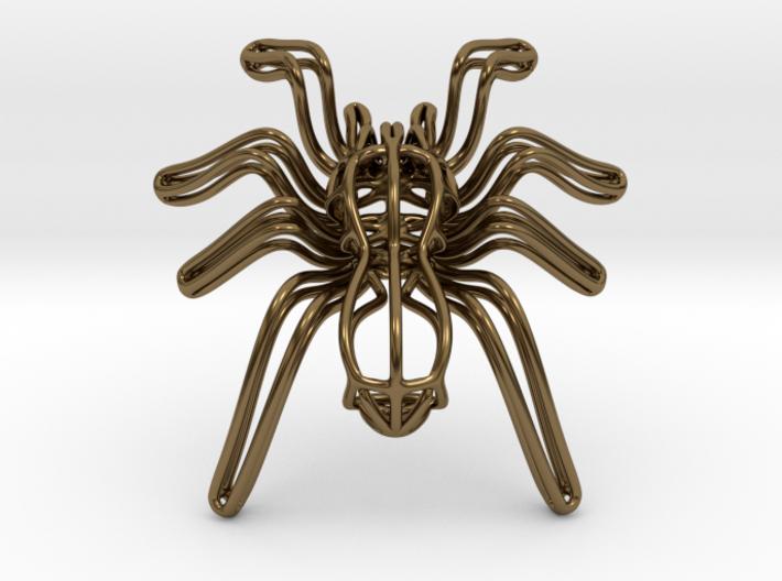 Tarantula Wireframe Keychain Bottle Opener 3d printed