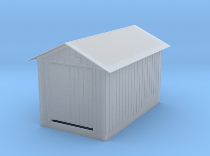 Motor Car Inspection House 3d printed
