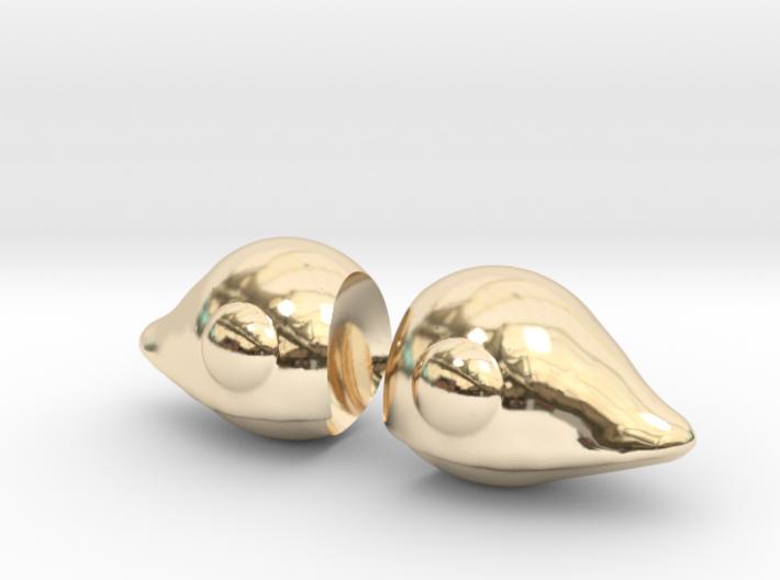 Chobits Ears 3d printed