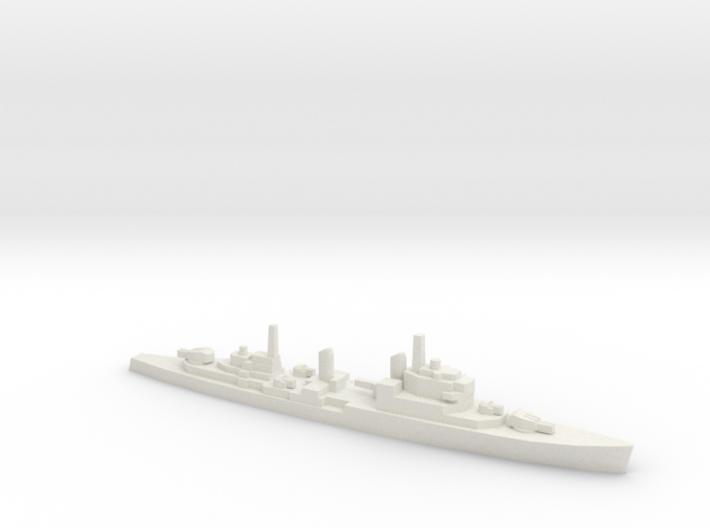 HMS Tiger CA w/barrels , 1/3000 3d printed