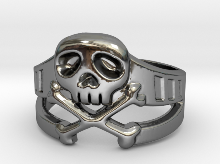 Space Captain Harlock | Ring size 10 3d printed