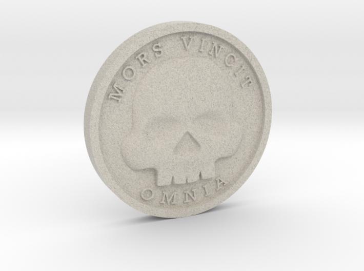 The Coin of Acheron 3d printed
