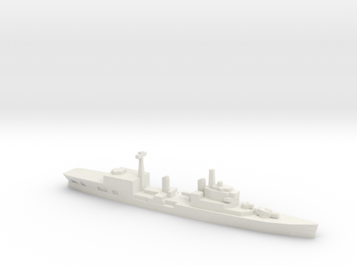 HMS Tiger Helicopter Cruiser w/Barrels, 1/3000 3d printed