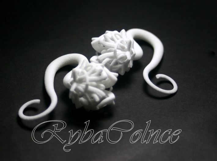 Plugs / The Lotus Flower / size 4G (5 мм) 3d printed