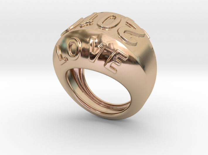 2016 Ring Of Peace 22 - Italian Size 22 3d printed