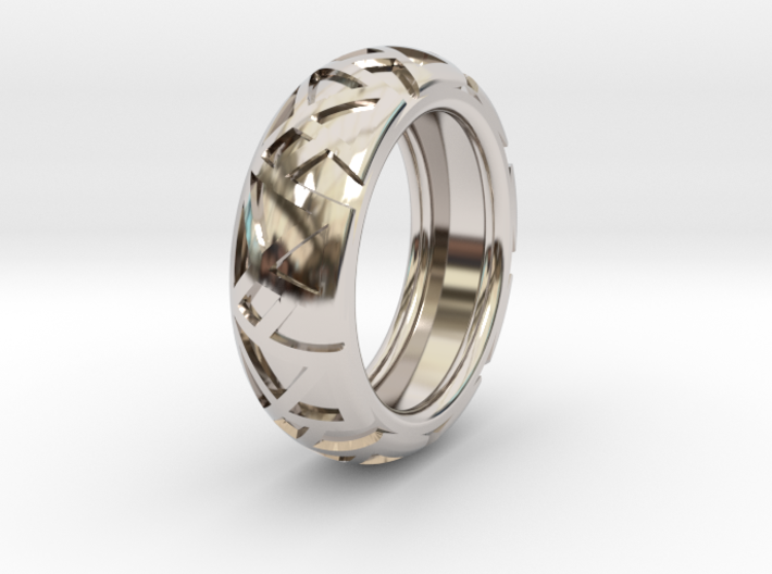 Shapes Ring19.6 3d printed