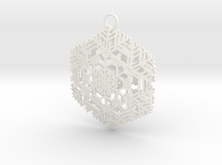 Snowflake2 3d printed