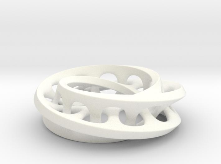Interlocked Mobius Ladder 3d printed