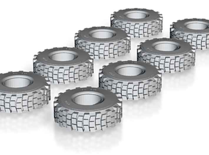 Hemtt Tires 1/48 3d printed