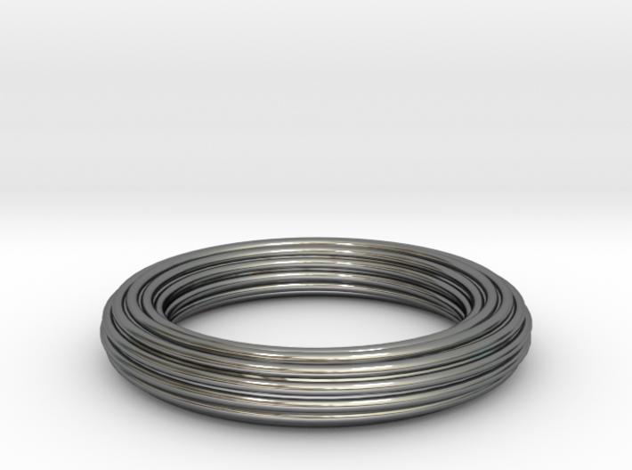 Ribbed Ring 3d printed