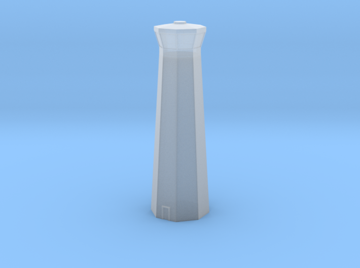 3mm (1/600th) Control Tower 3d printed
