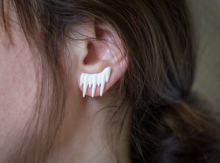 Icicle Studs 3d printed