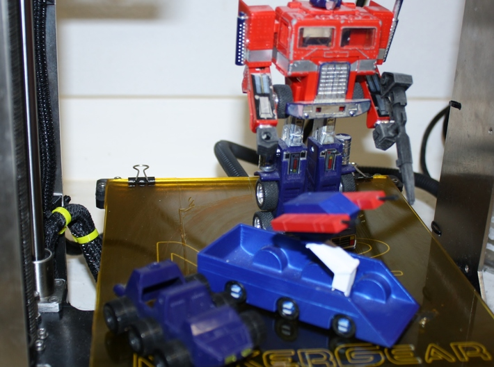 First Roller in Transformers Cartoon Series 3d printed
