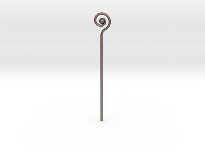 Spiral Staff 3d printed