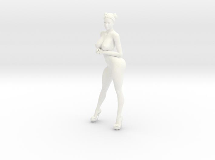 Heels girl 019 Scale 1:10 3d printed