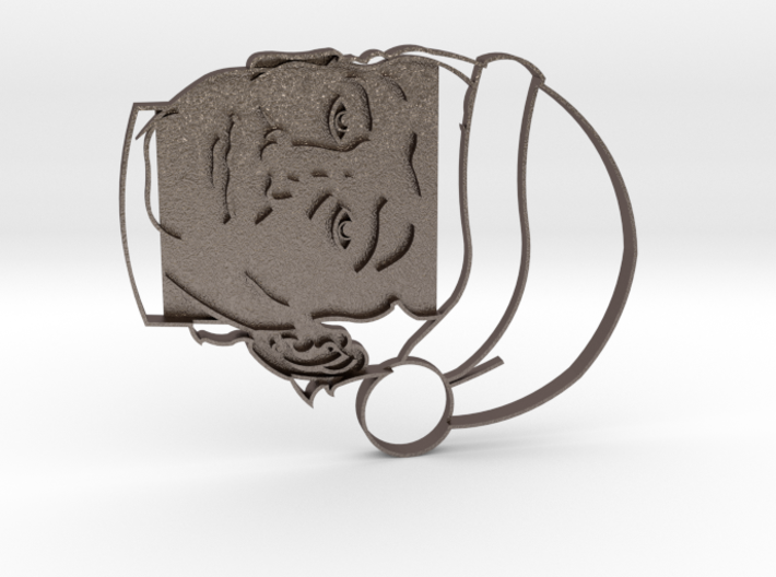 Murray Christmas Cookie Cutter 3d printed