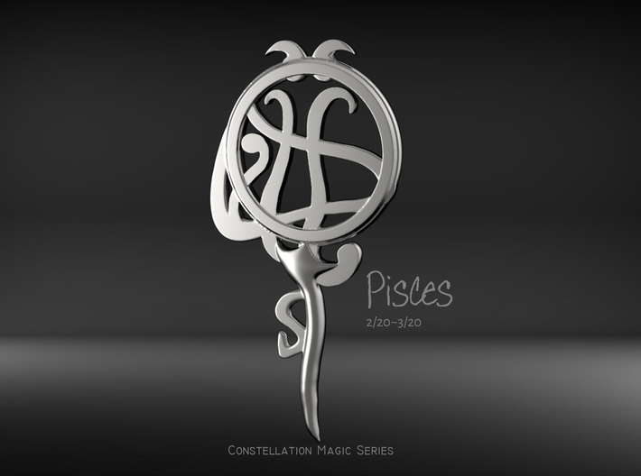 Pisces[Constellation Magic Series] - Key Style 3d printed