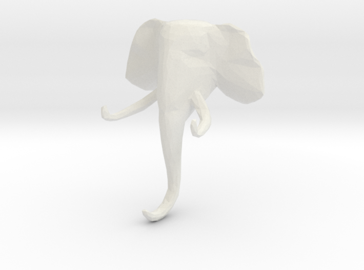 Elephant Clothes-Hanger 3d printed