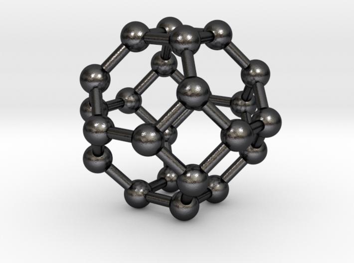 0374 Truncated Octahedron V&E (a=1cm) #003 3d printed