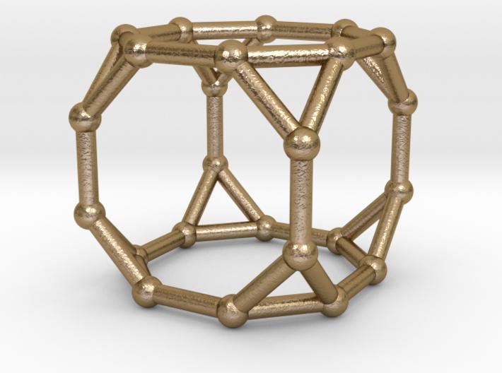 0375 Truncated Cube V&E (a=1cm) #002 3d printed
