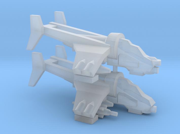 [3mm] Bunker Buster Gunship Team 3d printed