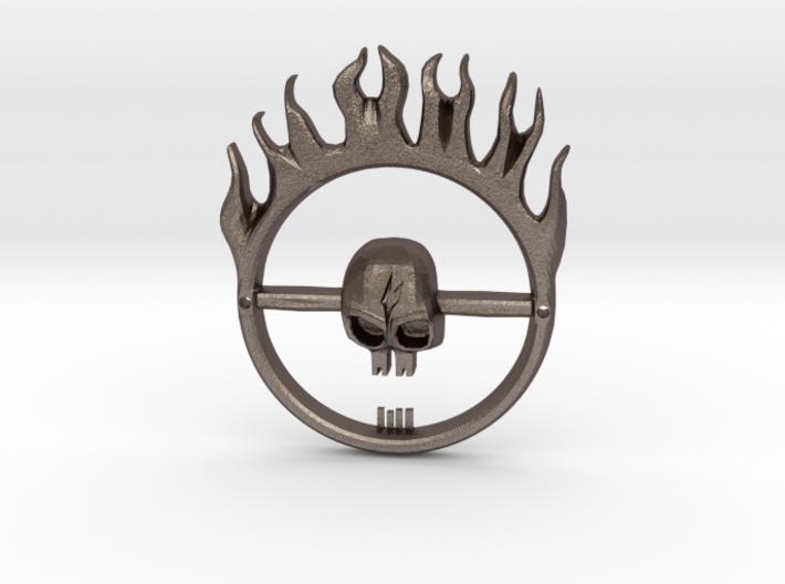 Mad Max Fury Road -- Furiosa's Belt Buckle 3d printed
