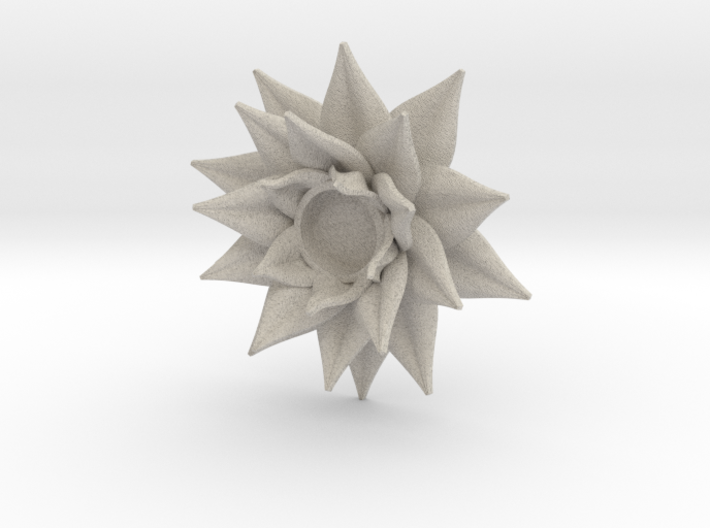 Lotus Candle Holder 3d printed