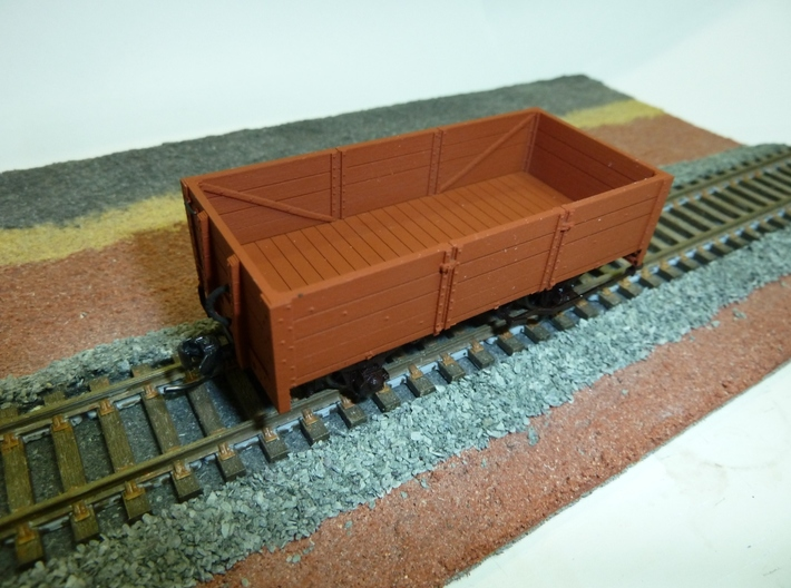 WAGR GC Wagon (TopHat compatible) 3d printed