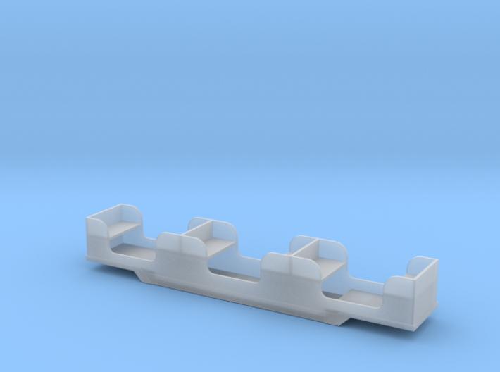 Stapleford Miniature Railway Coach 3d printed
