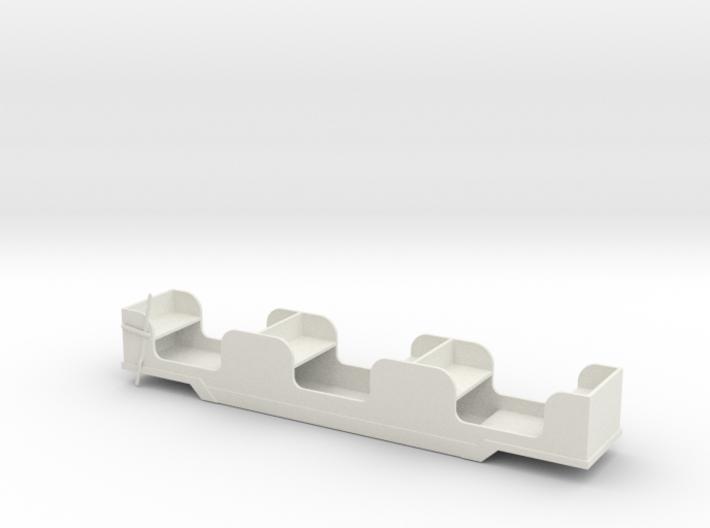 Stapleford Miniature Railway Brake Coach 3d printed