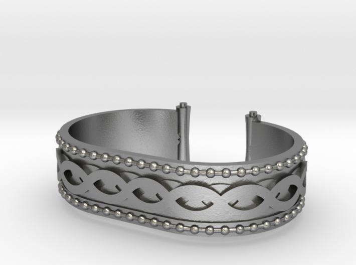 Scroll Bracelet 3d printed