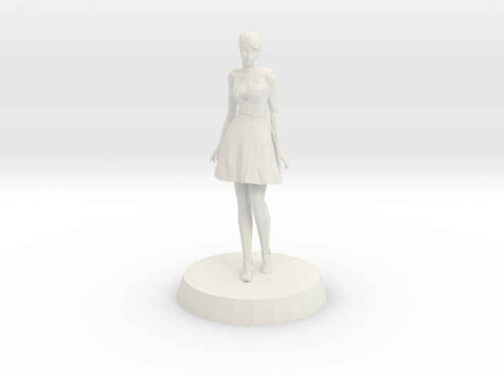 Girl - Standing 3d printed