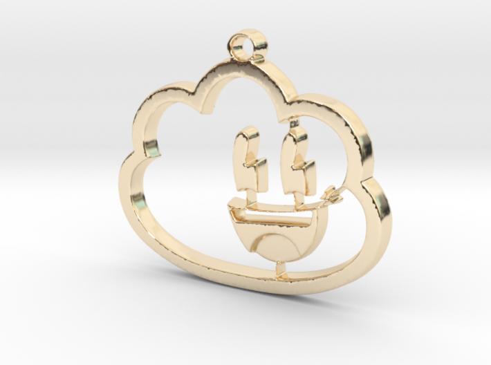 Dreamy Pendant 3d printed