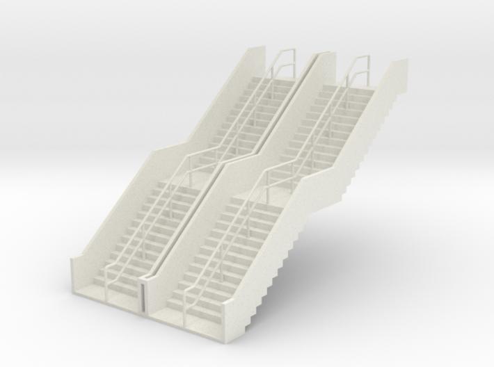 HO 2x Stairs H62mm 3d printed