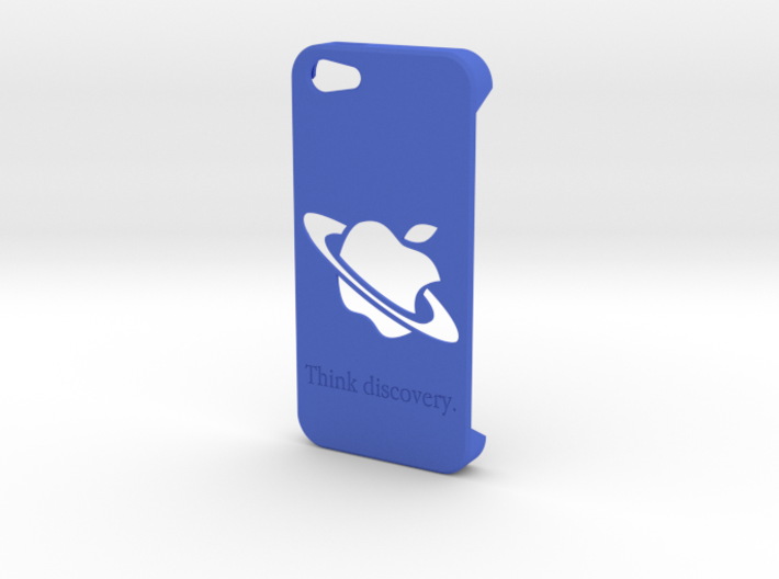 Iphone 5 Case - Think Discovery 3d printed