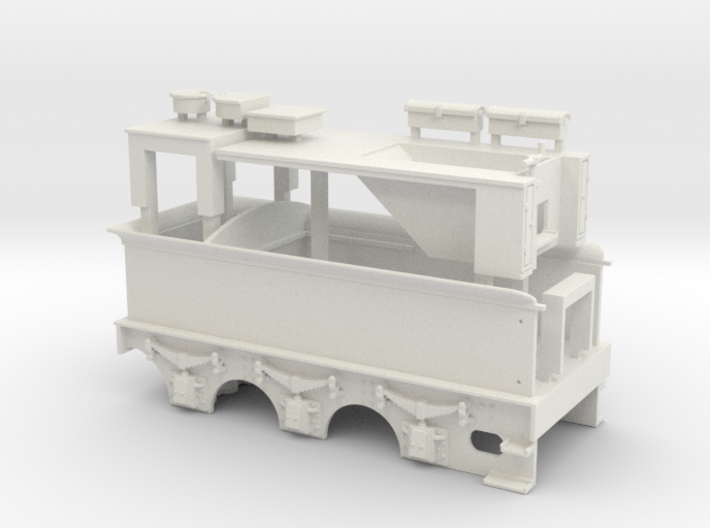 L&YR Tender - Body 3d printed