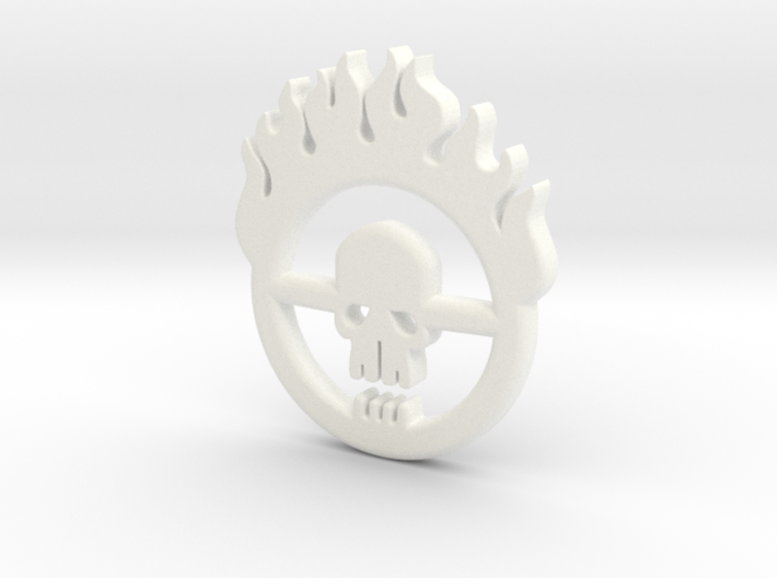 Mad Max: Fury Road Brand Pendant 3d printed