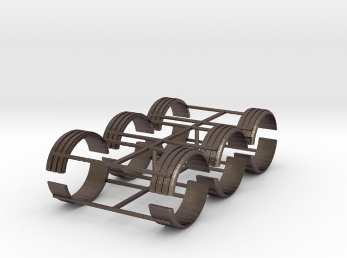 1/50th single tire fenders set of six 3d printed
