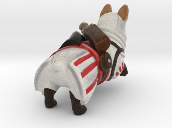 Assassin's Corgi 3d printed