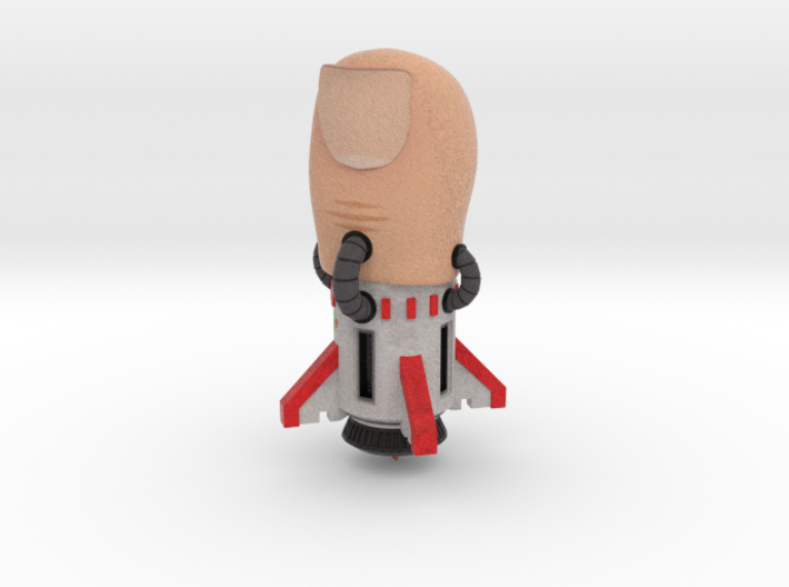 Missile Toe - Holiday Gift 3d printed