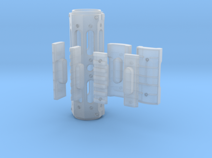 1:6 scale GG&G Tacticle Forearm 3d printed