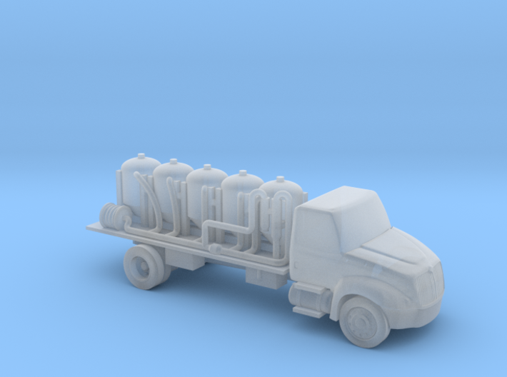 Chemical Delivery Truck - Zscale 3d printed