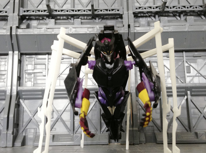 TF: Prime Queen set for deluxe Airachnid 3d printed
