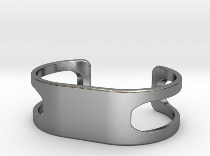Bracelet, size 3, embossed - 60x31 3d printed