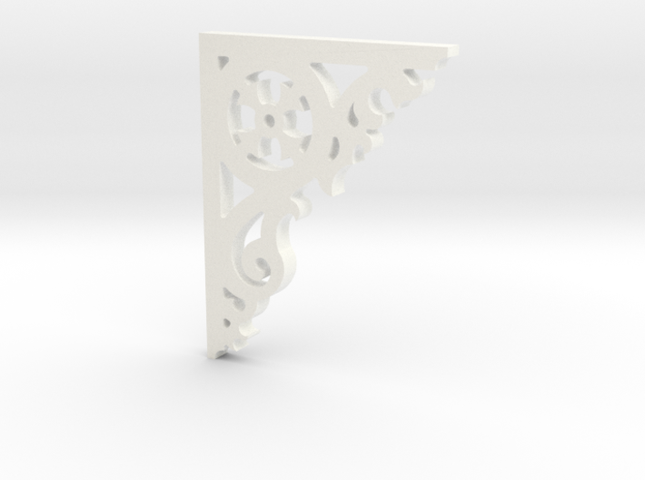 VictorianCorner - 004 1:12 scale 3d printed