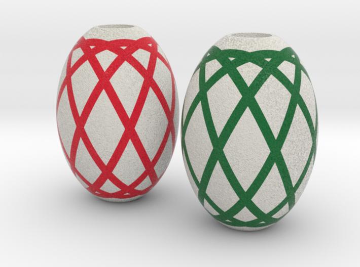 DRAW HC ornaments - color D solid 3d printed