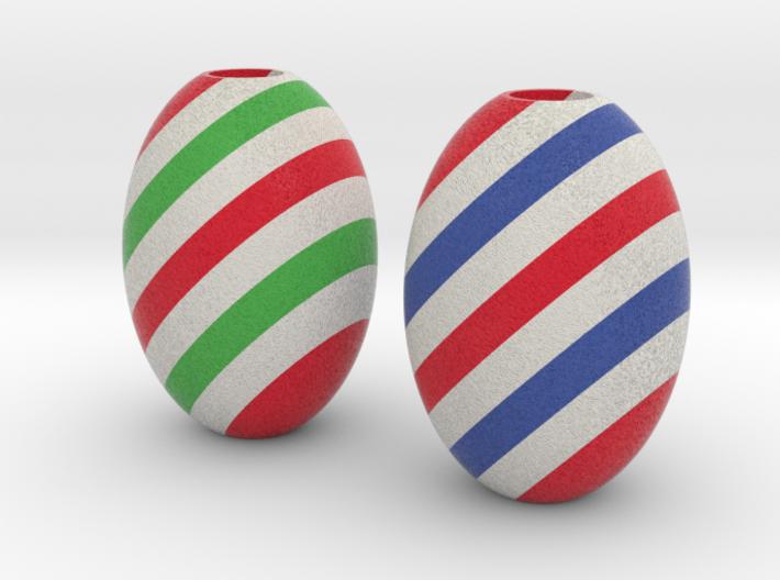 DRAW HC ornaments - color E solid 3d printed